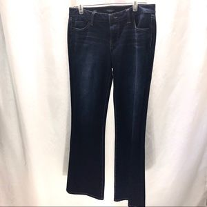 Liverpool dark wash boot cut jeans size 10/30